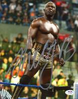 Shelton Benjamin Signed WWE 8x10 Photo (PSA COA) at PristineAuction.com