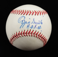 """Ozzie Smith Signed ONL Baseball Inscribed """"H.O.F. 02"""" (Beckett COA) at PristineAuction.com"""