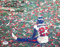 """Sean Murphy-Bunting Signed Buccaneers 8x10 Photo Inscribed """"SBLV Champ"""" (PSA COA) at PristineAuction.com"""