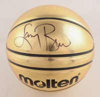 Larry Bird Signed Molten Gold Basketball (JSA COA) at PristineAuction.com