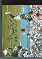 """Jerome Baker Signed Dolphins 8x10 Photo Inscribed """"1st Career Int 11/4/18"""" (JSA COA) at PristineAuction.com"""