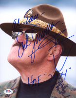 """Sergeant Slaughter Signed WWE 8x10 Photo Inscribed """"HOF 2004"""" (PSA COA) at PristineAuction.com"""