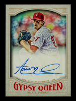 Aaron Nola 2016 Topps Gypsy Queen Autographs #GQAAN at PristineAuction.com