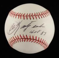 "Carl Yastrzemski Signed OL Baseball Inscribed ""HOF 87"" (Beckett COA) at PristineAuction.com"