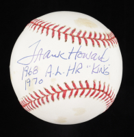 "Frank Howard Signed OML Baseball Inscribed ""1968"", ""1970"", & ""AL HR King"" (Beckett COA) at PristineAuction.com"