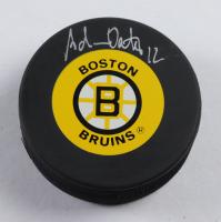 Adam Oates Signed Bruins Logo Hockey Puck Beckett COA) at PristineAuction.com