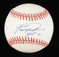 "Fergie Jenkins Signed OAL Baseball Inscribed ""HOF 91"" (Beckett COA) at PristineAuction.com"