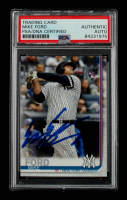 Mike Ford Signed 2019 Topps Update #US78 RC (PSA Encapsulated) at PristineAuction.com