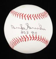 """Duke Snider Signed OML Baseball Inscribed """"HOF 80"""" (Beckett COA) at PristineAuction.com"""