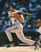 Paul Molitor Signed Twins 8x10 Photo (Beckett COA) at PristineAuction.com