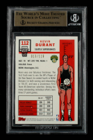 Kevin Durant 2007-08 Topps First Edition #112 RC #013/119 (BGS 9.5) at PristineAuction.com