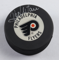 Ron Hextall Signed Flyers Hockey Puck (Beckett COA) at PristineAuction.com
