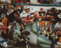 "Daryl ""Moose"" Johnston Signed Cowboys 8x10 Photo (Beckett COA) at PristineAuction.com"