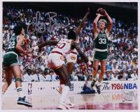 Larry Bird Signed Celtics 8x10 Photo (Fanatics Hologram) (See Description) at PristineAuction.com