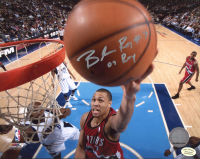 """Brandon Roy Signed Trailblazers 8x10 Photo Inscribed """"07 ROY"""" (Hollywood Collectibles Hologram) at PristineAuction.com"""