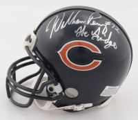 """William Perry & Mike Ditka Signed Bears Mini Helmet Inscribed """"The Fridge"""" & """"HOF 88"""" (Beckett COA) at PristineAuction.com"""