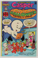 """1976 """"Casper The Friendly Ghost Halloween Trick or Treat"""" Issue #1 Harvey World Comic Book (See Description) at PristineAuction.com"""