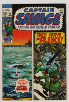 """1970 """"Captain Savage"""" Issue #19 Marvel Comic Book (See Description) at PristineAuction.com"""