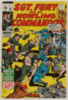 """1970 """"Sgt. Fury"""" Issue #82 Marvel Comic Book (See Description) at PristineAuction.com"""