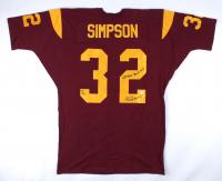"O. J. Simpson Signed Jersey Inscribed ""68' Rose Bowl MVP'"" (Gridiron Legends COA) at PristineAuction.com"