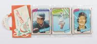 1980 Topps Baseball Christmas Rack Packs of (12) Cards at PristineAuction.com