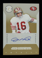 Joe Montana 2011 Totally Certified Gold Signatures #146 #12/15 at PristineAuction.com