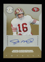 Joe Montana 2011 Totally Certified Gold Signatures #146 #14/15 at PristineAuction.com