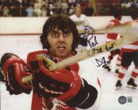 "Paul D'Amato Signed ""Slap Shot"" 8x10 Photo Inscribed ""Dr. Hook"" (Beckett COA) at PristineAuction.com"