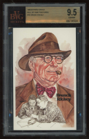 Branch Rickey 1980-02 Perez-Steele Hall of Fame Postcards #105 (BVG 9.5) #00353/10000 at PristineAuction.com