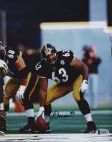 Dermonnti Dawson Signed Steelers 8x10 Photo (Beckett COA) at PristineAuction.com