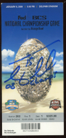 """Tim Tebow Signed National Championship Game Ticket Inscribed """"08 Champs"""" (Tebow COA) at PristineAuction.com"""