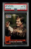 Bill Belichick 1991 Pro Set #126 Coach RC (PSA 8) at PristineAuction.com