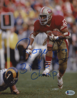 """Roger Craig Signed 49ers 8x10 Photo Inscribed """"3x SB Champ"""" (Beckett COA) at PristineAuction.com"""