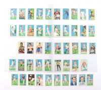 """1935 Gallaher """"Sporting Champions"""" Complete Set of (48) Cigarette Cards at PristineAuction.com"""
