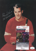"""Gordie Howe Signed Red Wings 8x10 Photo Inscribed """"Mr. Hockey"""" (JSA COA) at PristineAuction.com"""