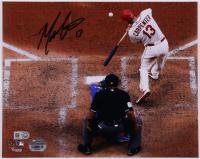 Matt Carpenter Signed Cardinals 8x10 Photo (Fanatics & MLB Hologram) (See Description) at PristineAuction.com