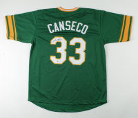 Jose Canseco Signed Jersey (Beckett COA) at PristineAuction.com