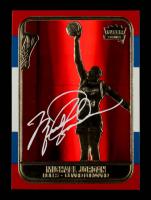 Michael Jordan 1998 Fleer 23KT Gold Red Prism Refractor #5,817 at PristineAuction.com