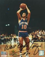 "Walt ""Clyde"" Frazier Signed Knicks 8x10 Photo (Beckett COA) at PristineAuction.com"