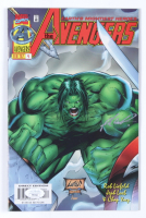 """Rob Liefeld Signed 1997 """"The Avengers"""" Issue #4 Marvel Comic Book (JSA COA) at PristineAuction.com"""
