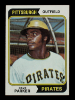 Dave Parker 1974 Topps #252 RC at PristineAuction.com