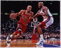 Ron Harper Signed Bulls 8x10 Photo (Fanatics Hologram) (See Description) at PristineAuction.com