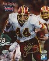 John Riggins Signed Redskins 8x10 Photo (Beckett COA & Riggins Hologram) at PristineAuction.com