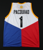 Manny Pacquiao Signed Jersey (Beckett Hologram) at PristineAuction.com