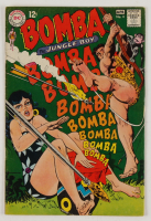 "1968 ""Bomba The Jungle Boy"" Issue #4 DC Comic Book (See Description) at PristineAuction.com"