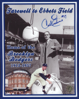 Carl Erskine Signed Dodgers 8x10 Photo (Tracy Stallard Enterprises Hologram) at PristineAuction.com