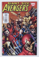 """Stan Lee Signed 2008 """"Giant-Size Avengers"""" LE Issue #1 Marvel Comic Book (JSA COA) at PristineAuction.com"""