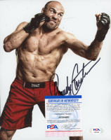 Randy Couture Signed UFC 8x10 Photo (PSA COA) at PristineAuction.com