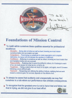 """Gene Kranz Signed """"Foundations of Mission Control"""" 8x10 Photo Inscribed """"Aim High!"""" (Beckett COA) (See Description) at PristineAuction.com"""