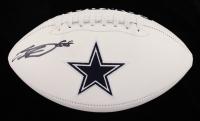 CeeDee Lamb Signed Cowboys Logo Football (Fanatics Hologram) (See Description) at PristineAuction.com
